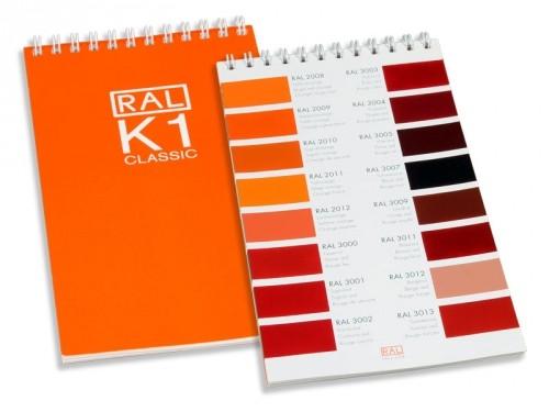 quạt màu RAL-K1