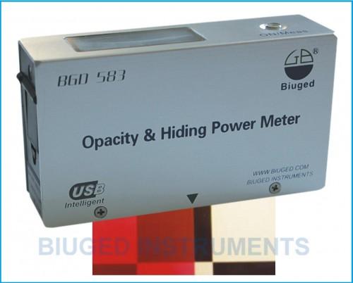 Máy đo độ che phủ BGD 583