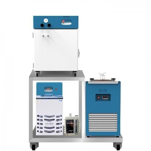 Hệ thống làm mát tủ sấy chân không hãng Samheung Vacuum oven package