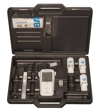 máy đo pH cầm tay hãng Horiba pH130