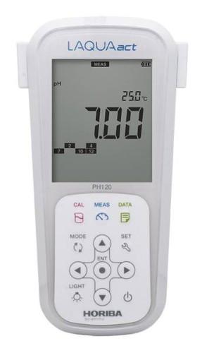 may do ph cam tay hang Horiba pH120