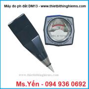 Máy đo pH đất Dm13 hãng Takemura