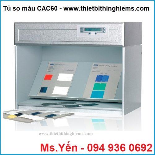 Tủ kiểm tra màu CAC60 hãng Sheen