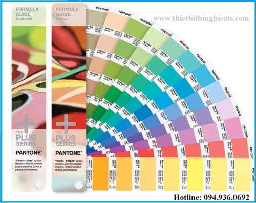 Quạt màu Pantone -FORMULA GUIDE Solid Coated & Solid Uncoated