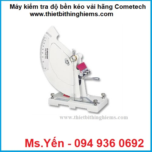 may kiem tra do ben keo vai QC-337 hang Cometech
