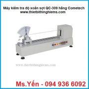 Máy kiểm tra độ xoắn sợi QC-309 hãng Cometech