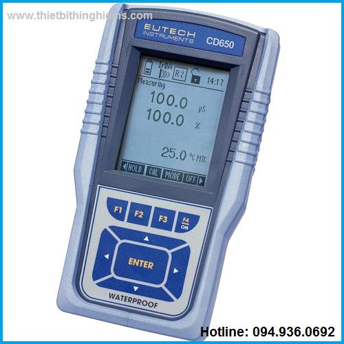 Máy đo đa chỉ tiêu CD650 hãng Eutech