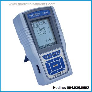 Máy đo đa chỉ tiêu PC650 Eutech
