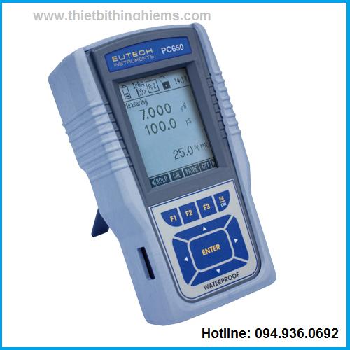 Máy đo đa chỉ tiêu PC650 hãng Eutech