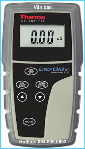 Máy đo độ dẫn COND 6+ hãng Eutech.