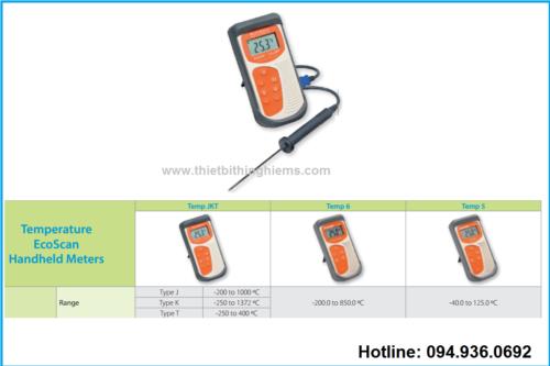 Máy kiểm tra nhiệt độ hãng Eutech