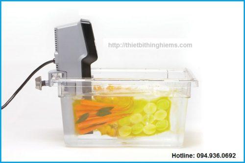 Máy Sous vide nấu ăn - bể nhựa