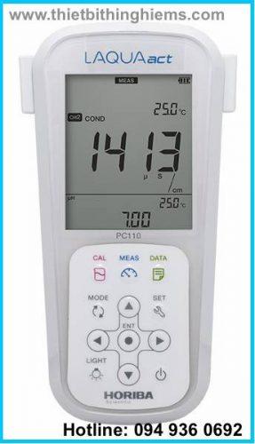 Máy đo đa chỉ tiêu PC110 - PC1100 hãng Horiba