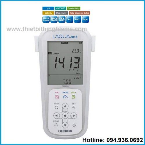 Máy đo đa chỉ tiêu PC110 Horiba