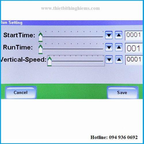 Phần mềm Máy đo độ nhớt KU dành cho sơn mực in hãng BEVS 1112