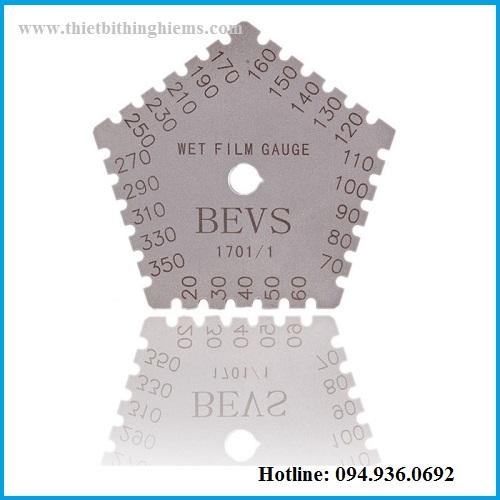 Thước đo độ dày sơn ướt hãng BEVS 1701/1