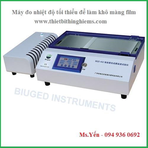 Máy đo nhiệt độ tối thiểu màng sơn khô hãng Biuged