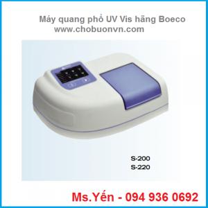Máy quang phổ so màu UV Vis hãng Boeco