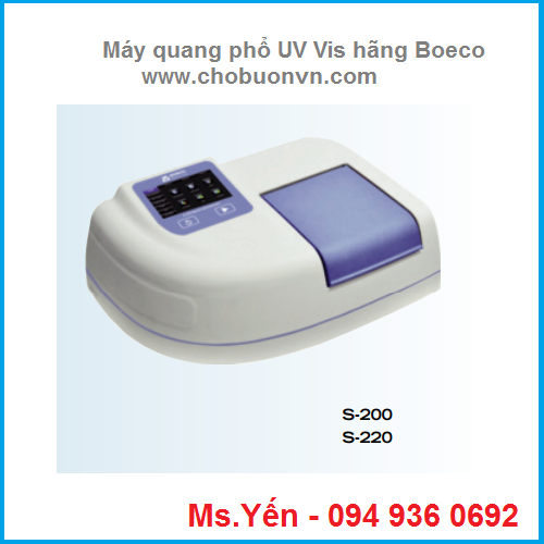 may quang pho so mau uv vis hang boeco