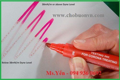 Sử dụng bút thử sức căng bề mặt Biuged