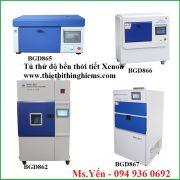 Tủ thử độ bền thời tiết Xenon hãng Biuged