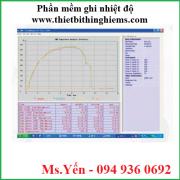 Phần mềm ghi nhiệt độ hãng Biuged