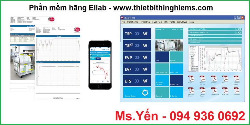 Phần mềm hãng Ellab