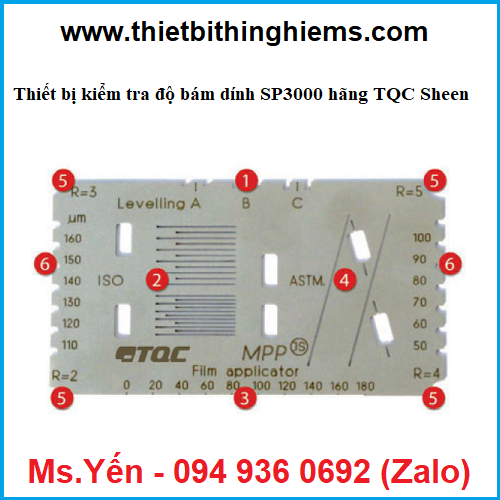 thiet bi kiem tra do bam dinh SP3000 hang TQC Sheen