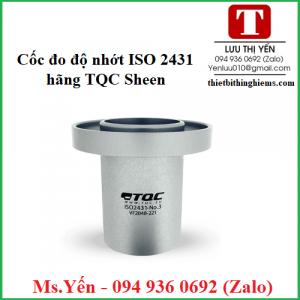 Cốc đo độ nhớt ISO 2431 hãng TQC Sheen