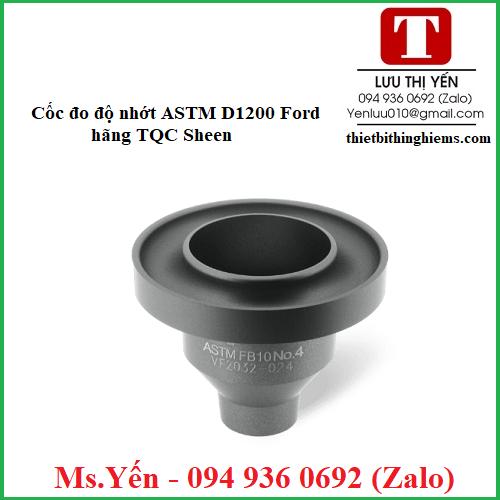 Cốc kiểm tra độ nhớt ASTM D1200 Ford