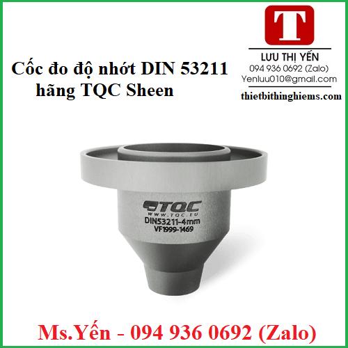 coc do do nhot DIN 53211 hang TQC Sheen