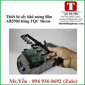 Thiết bị sấy khô màng film AB3500 hãng TQC Sheen