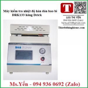 Máy kiểm tra nhiệt độ hàn dán bao bì DRK133 hãng Drick