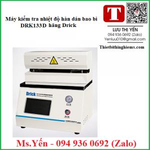 Máy kiểm tra nhiệt độ hàn dán bao bì DRK133D hãng Drick