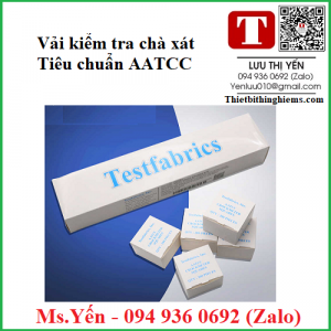 Vải kiểm tra chà xát AATCC