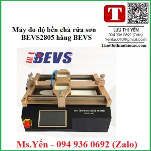 Máy đo độ bền chà rửa sơn BEVS2805 hãng BEVS